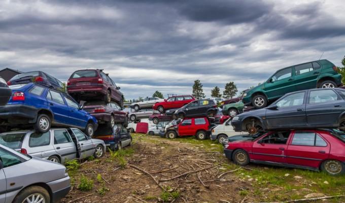 Residuos coches